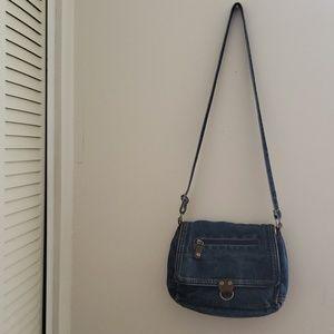 Handbags - Vintage denim crossbody